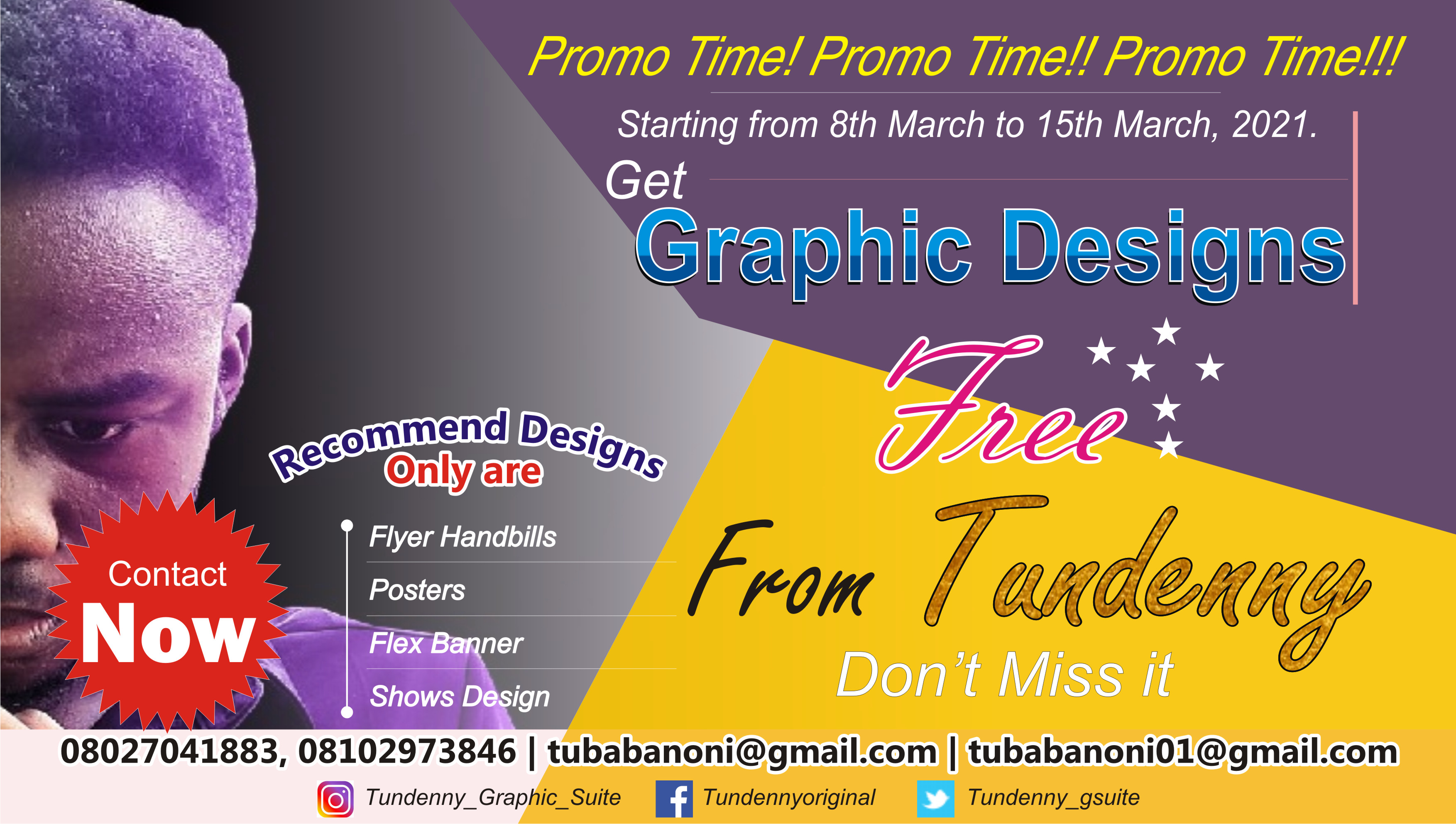 Free Graphic Designs From Tundenny